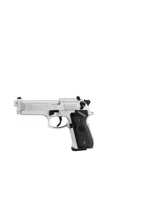 UMAREX BERETTA M92 FS NICKEL AIR PISTOL .177 PELLET