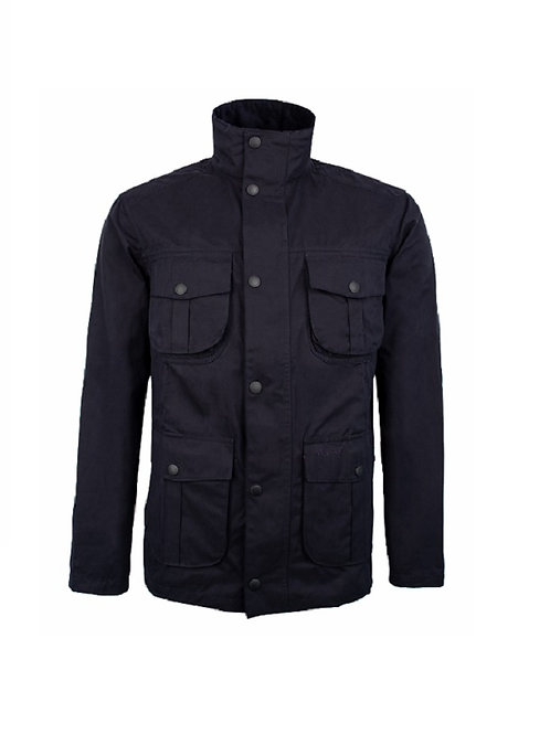 BARBOUR NAVY SANDERLING CASUAL JACKET