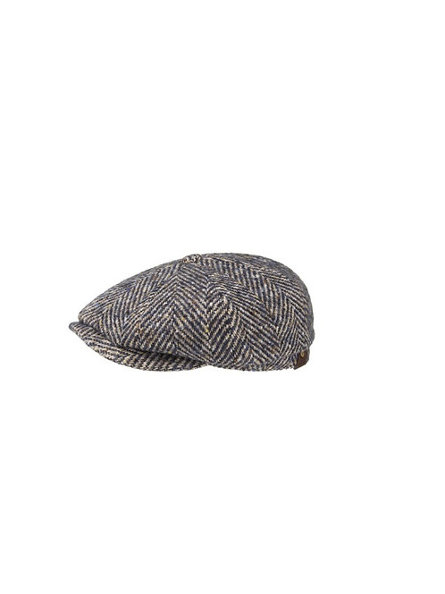 STETSON BEIGE (327) HATTERAS BAKERBOY FLAT CAP (6840502)