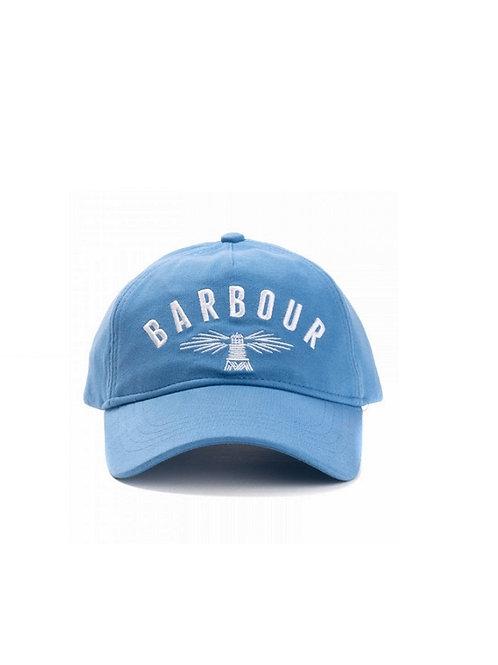 BARBOUR PARISIE BLUE HARTLAND SPORTS CAP
