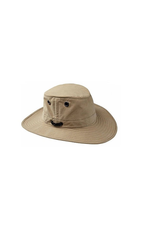 TILLEY TAN OUTBACK LWC55 LIGHTWEIGHT WAXED COTTON HAT