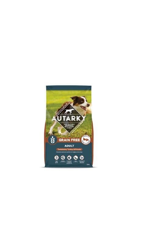 AUTARKY ADULT TURKEY GRAIN FREE DRY DOG FOOD 12KG