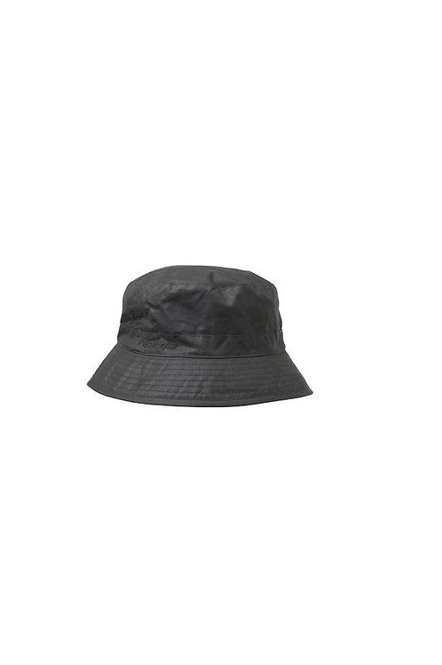 BARBOUR BLACK WAX SPORTS HAT