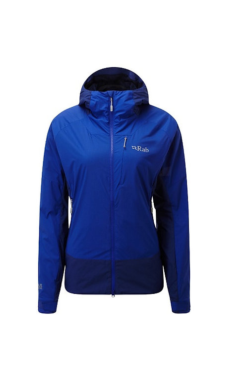 RAB LADIES BLUEPRINT/CELESTIAL VAPOUR RISE SUMMIT JACKET