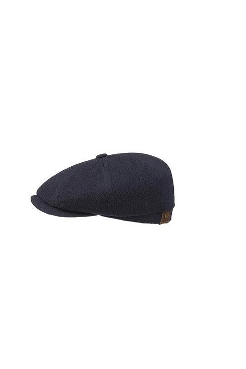 STETSON NAVY (21) HATTERAS BAKERBOY FLAT CAP (6840101)
