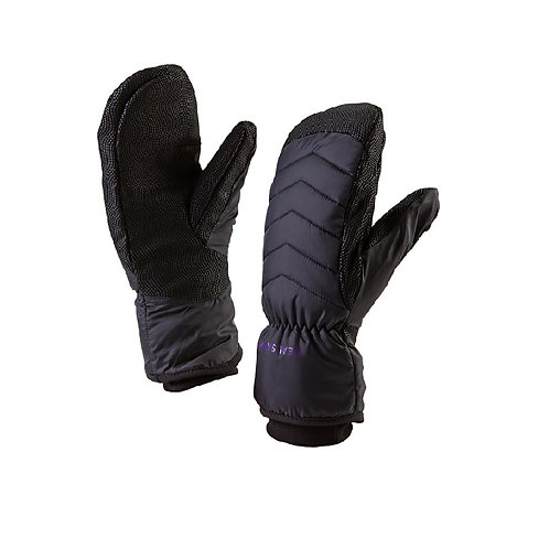 SEALSKINZ LADIES BLACK OUTDOOR MITTENS