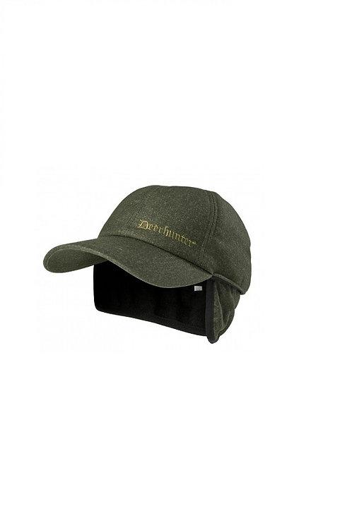 DEERHUNTER ELMWOOD RAM WINTER CAP WITH FOLD DOWN EAR FLAPS