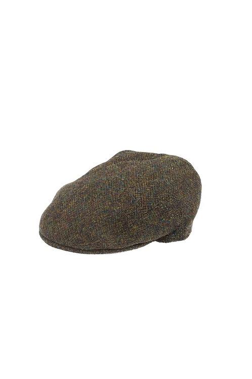 FAILSWORTH STORNOWAY (2016) GREEN/BROWN FLAT CAP