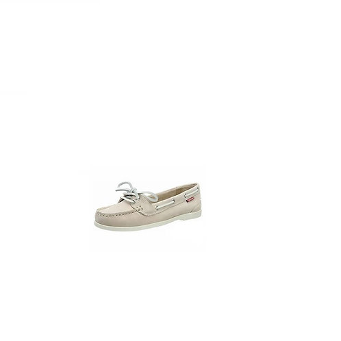 CHATHAM LADIES PINK HARPER NUBUCK BOAT SHOES
