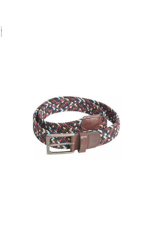 BARBOUR NAVY MIX FORD BELT