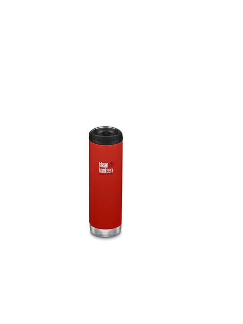 KLEAN KANTEEN POST BOX RED INSULATED TKWIDE 20 OZ/592ML BOTTLE
