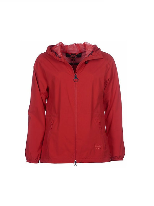 BARBOUR LADIES REEF RED LEEWARD WATERPROOF JACKET