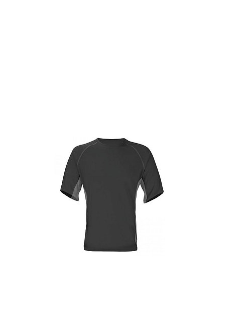 TREKMATES LADIES CHARCOAL/BLACK SHORT SLEEVED VAPOUR ACTIVE THERMAL T-SHIRT