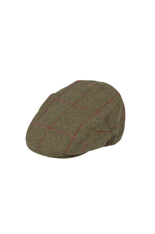 ALAN PAINE SAGE COMBROOK TWEED CAP