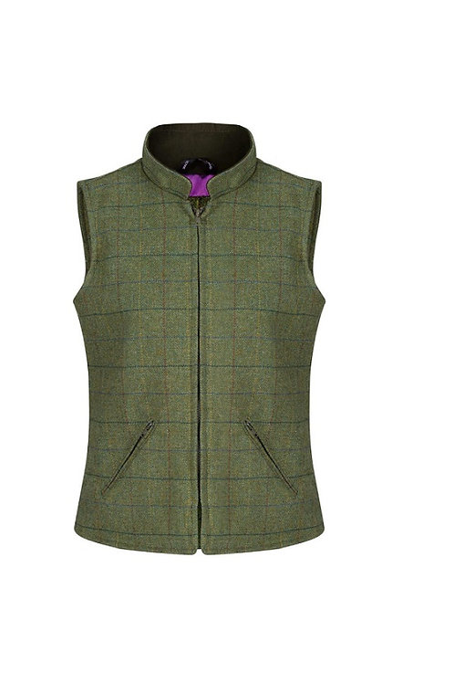 ALAN PAINE LADIES DILL RUTLAND TWEED GILET