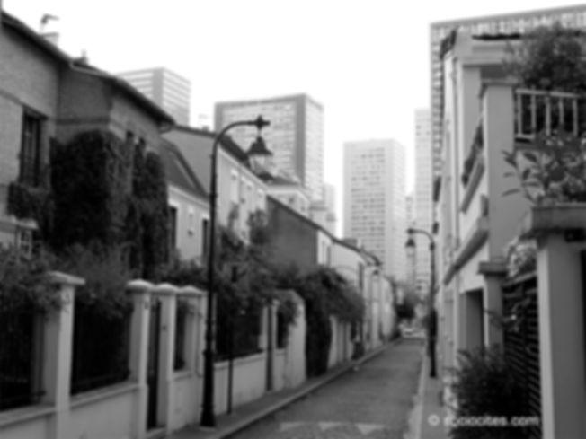 Photo issue du parcours dans le 13e arrondissement