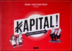 Boîte de jeu Kapital par les Pinçon-Charlot illustrée par Étienne Lécroart