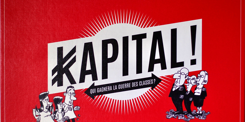 Venez jouer à Kapital! dans la librairie La Marbrerie (Montreuil)