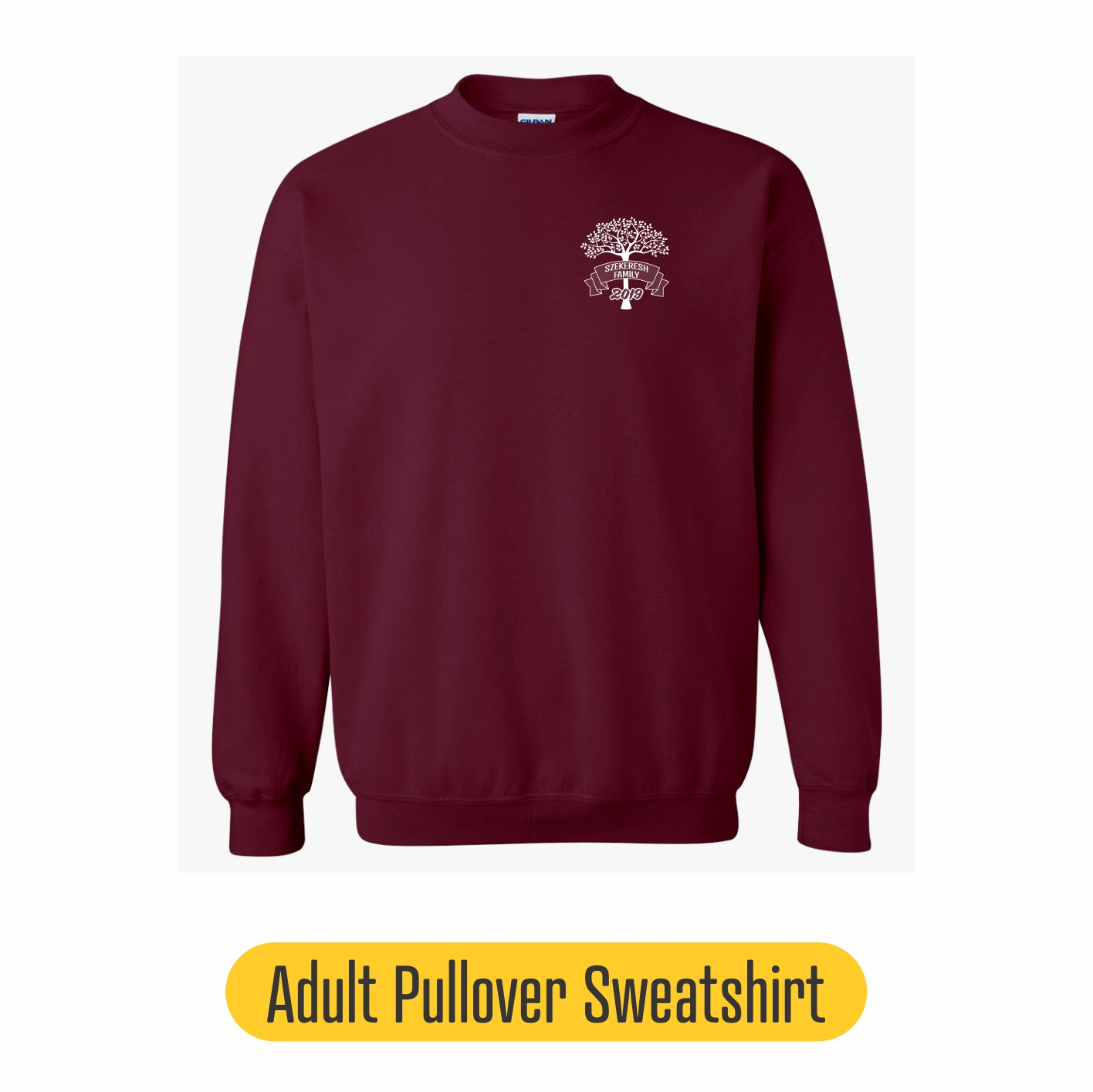 Adult crew sweatshirt