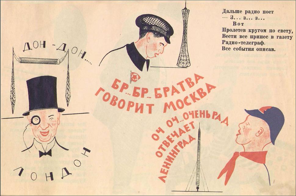 Вот так штука Радионаука, 1925, рисю Бул