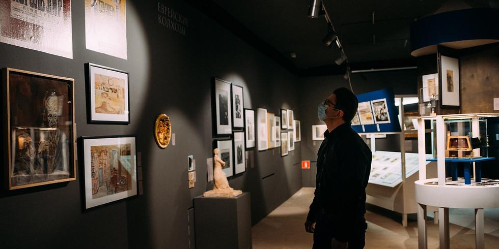 Ночная кураторская экскурсия по выставке «Блуждающие звезды: советское еврейство в довоенном искусстве»
