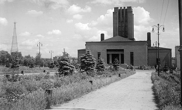 РГАКФД. Шуховская башня и крематорий. 1936-39.jpg