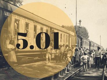 Экскурсия с просмотром новогодних мультфильмов 1920-1940-х гг. в детском киновагоне