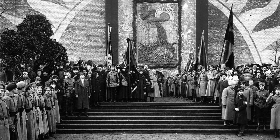 Первая экскурсия «100 лет плану монументальной пропаганды»