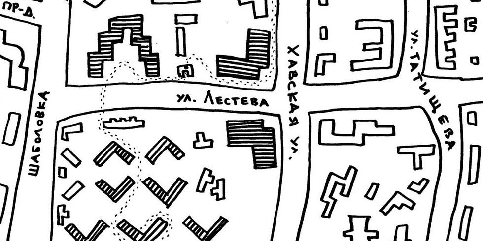 Детская экскурсия по авангардной архитектуре района