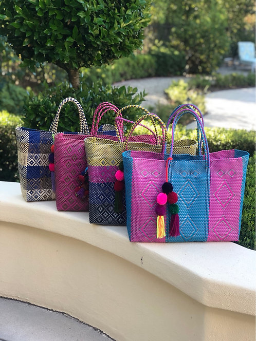 NEW!!!   Eco-Friendly Recycled Plastic Tote Bags