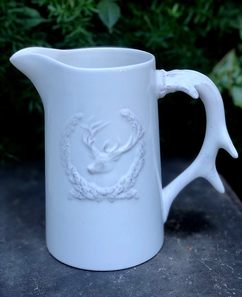 Ceramic Deer Pitcher
