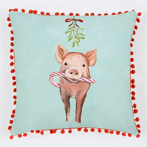 Pillow - Festive Pig