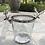 Thumbnail: Wine Bucket w/ Stag-Glass w/ Polished Nickel