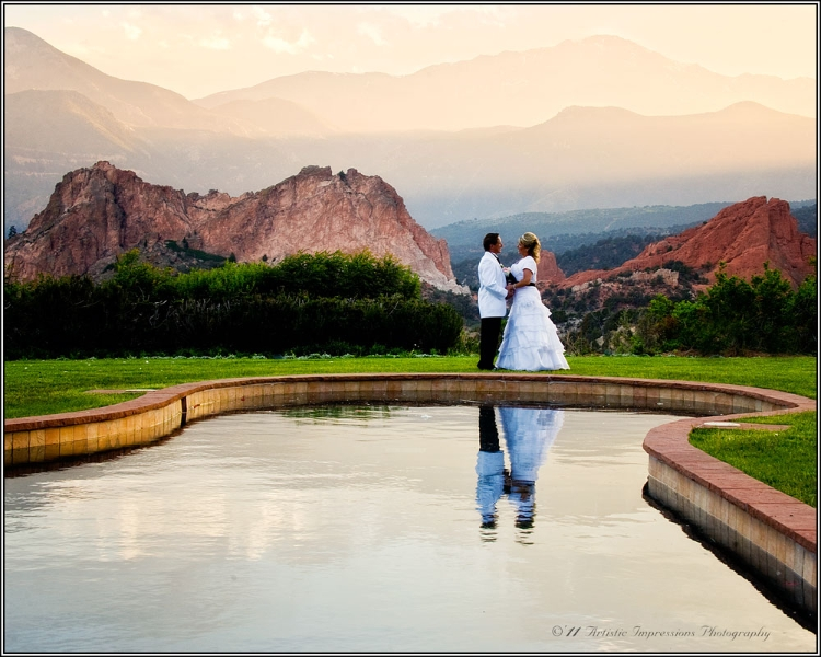 Wedding at Garden of Gods Club