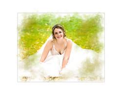 Blushing Bride Portrait