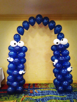 Cookie Monster Arch