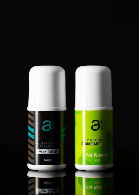 Anti Perspirant Deodorant (4 pack) - Men & Women