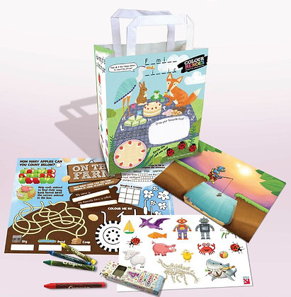 Great Outdoors Design Activity Packs
