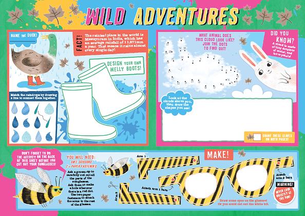 Wild Adventures Activity Sheet
