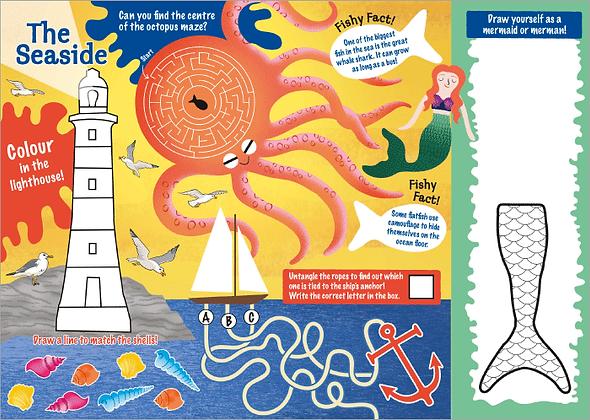 Seaside Adventure Activity Sheet