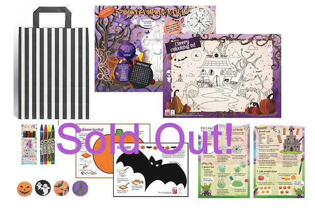 100 Halloween Filled Activity Packs