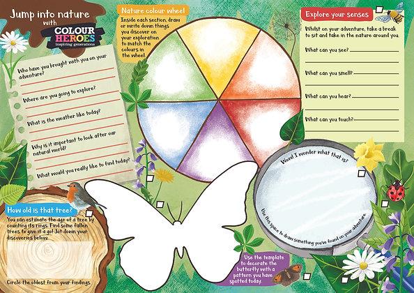 Nature Detective 1,000 Activity Sheets