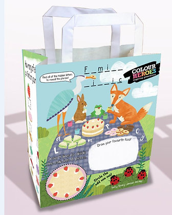200 Great Outdoors Picnic Activity Bags