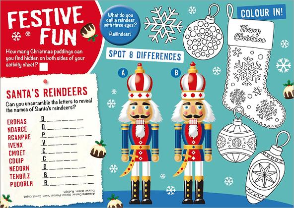 Festive Fun Activity Sheet