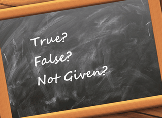Советы по IELTS Reading: True/ False/ Not given
