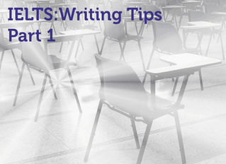 Советы по IELTS Writing. Часть 1