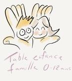 Table Enfance Famille