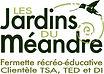 Logo Jardins du méandre