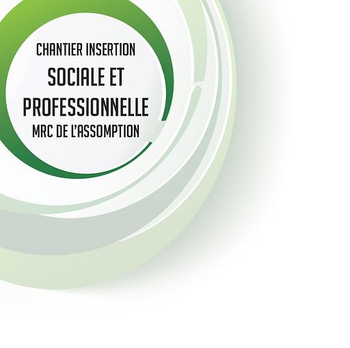 Logo Chantier Insertion sociale et professionnelle MRC de L'Assomption