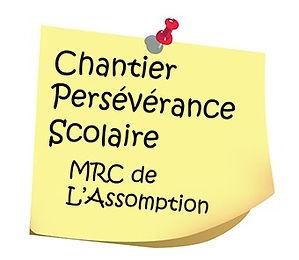 Logo Chantier Persévérance scolaire MRC de L'Assomption